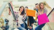 Millenialsi oblegają galerie handlowe w godzinach rannych i popołudniowych. Wieczorne zakupy ich nie interesują