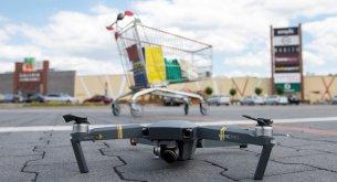 Eksperci: Zakupy z drona na razie tylko dla biznesu. Zwykły konsument jeszcze długo poczeka