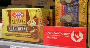 ANALIZA: Sieci robią coraz więcej promocji na masło. Ale ceny, zamiast spadać, częściej rosną