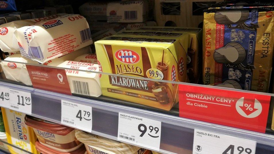 ANALIZA: Nie sprawdzają się czarne scenariusze. Ceny masła niewiele się różnią od zeszłego roku