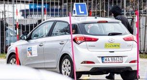 Dane z WORD-ów: Spada zdawalność egzaminów na prawo jazdy. Najgorzej jest z częścią praktyczną