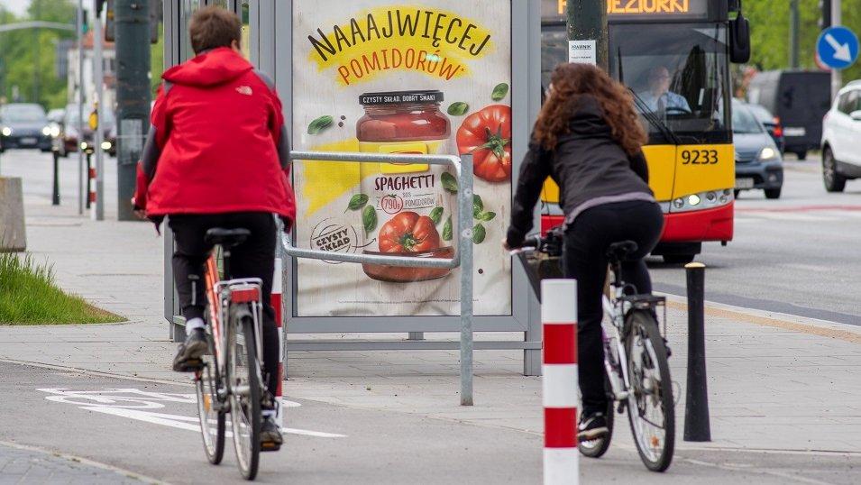 Reklama zewnętrzna notuje wzrosty. Ruch wokół nośników OOH wraca do norm sprzed pandemii